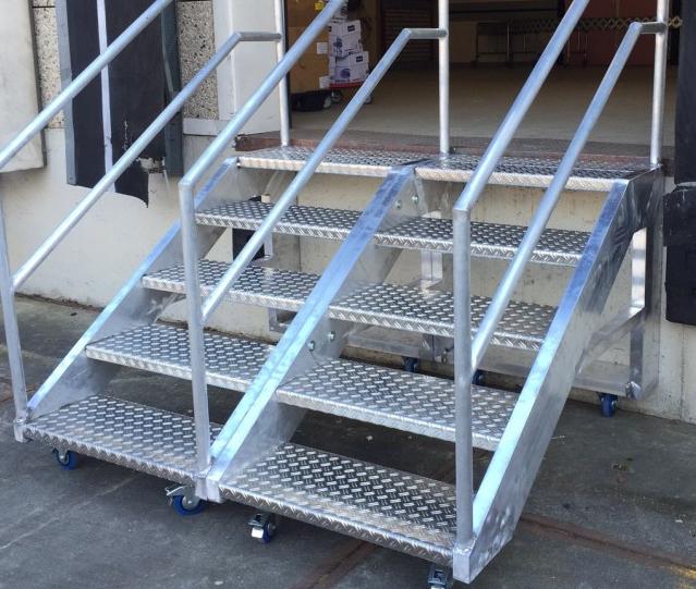 aluminium lassen trap